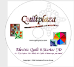 Quiltplaza's Electric Quilt 6 Starter CD