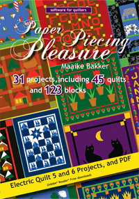 Paper Piecing Pleasure CD-ROM